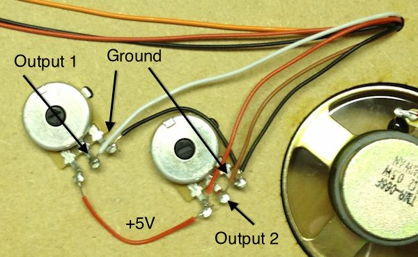 How to wire two potentiometers in series wire center build your own arduinitar rh eecs qmul ac uk arduino potentiometer wiring potentiometer pins asfbconference2016 Images